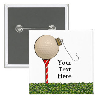 Christmas Golf Gift Ideas 2 Inch Square Button