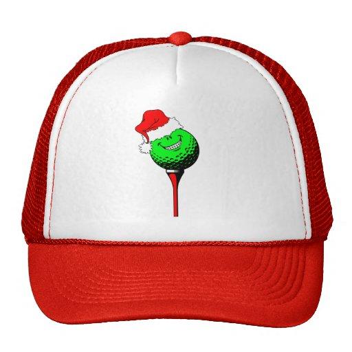 Christmas golf hat