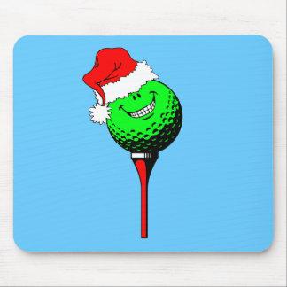Christmas golf mouse pad