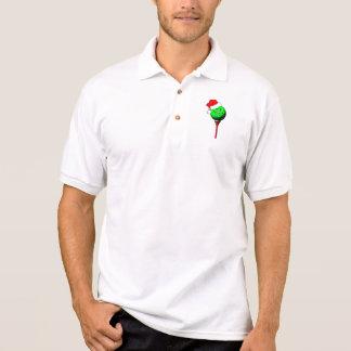 Christmas golf polo shirt