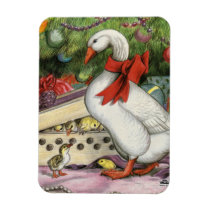 Christmas Goose Magnet