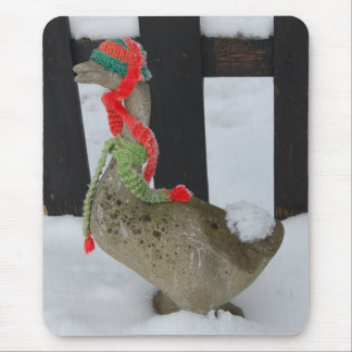 Christmas Goose Mouse Pad