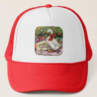 Christmas Goose Trucker Hat