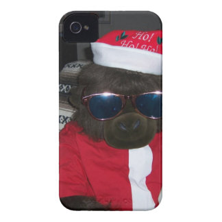 Christmas Gorilla Santa Claus iPhone 4 Case