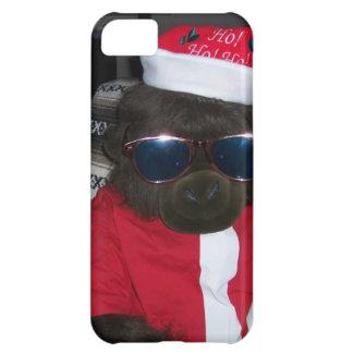 Christmas Gorilla Santa Claus iPhone 5C Cases