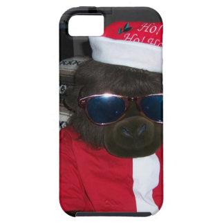 Christmas Gorilla Santa Claus iPhone 5 Case