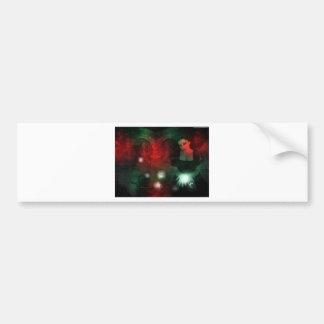 Christmas gothic bumper sticker