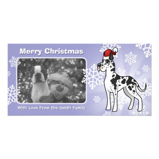 Christmas Great Dane Card