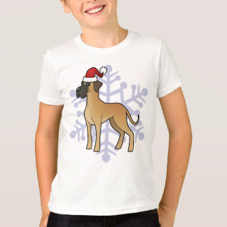 Christmas Great Dane T-Shirt