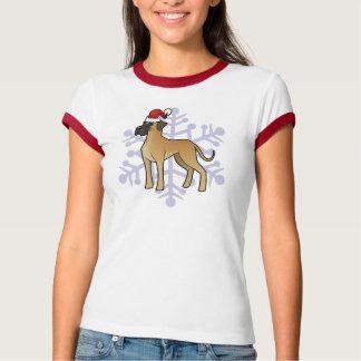 Christmas Great Dane Tee Shirt