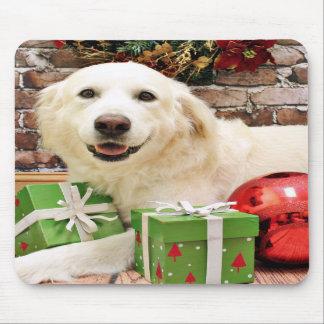 Christmas - Great Pyrenees Labrador X - Ginny Mouse Pad