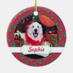 Christmas - Great Pyrenees - Sophie Ornament