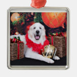 Christmas - Great Pyrenees - Sophie Ornaments