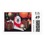 Christmas - Great Pyrenees - Sophie Stamp