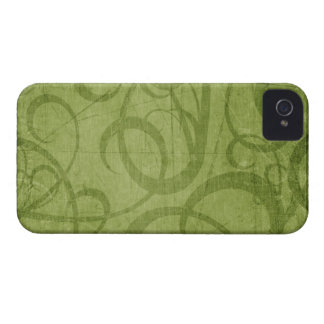 Christmas Green Blackberry Bold 9700/9780 Case-Mate iPhone 4 Cases