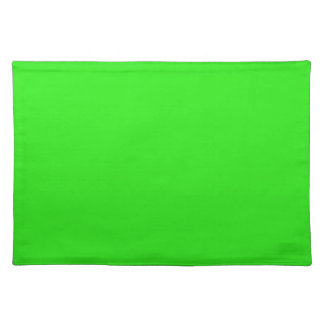Christmas Green Bright Color Trend Blank Template Placemats