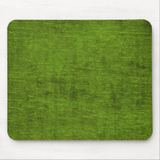 Christmas Green Chenille Fabric Texture Mouse Pad