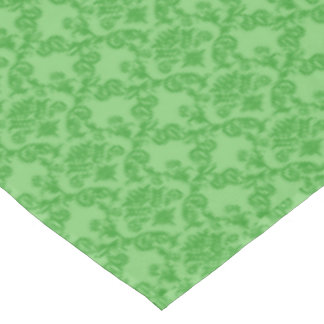 CHRISTMAS GREEN Damask Holiday Tablecloth