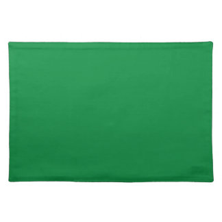 Christmas Green Dark Color Trend Blank Template Placemats
