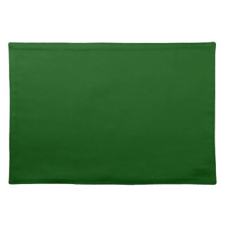 Christmas Green Dark Forest Color Trend Template Placemats