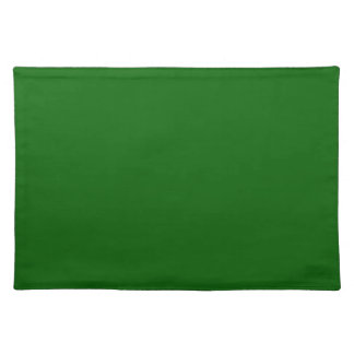 Christmas Green Forest Color Trend Blank Template Place Mat