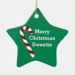 Christmas Green Keepsake Star Ornament by Janz