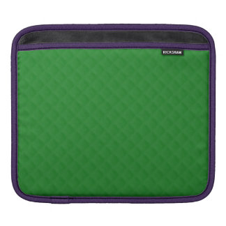 Christmas Green Quilted Pattern Sleeves For iPads