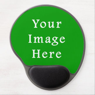 Christmas Green Retro Color Trend Blank Template Gel Mouse Mat