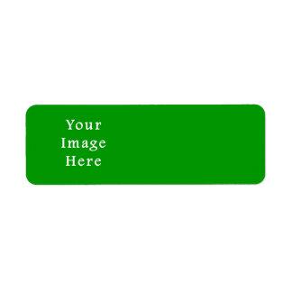 Christmas Green Retro Color Trend Blank Template Custom Return Address Labels