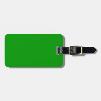 Christmas Green Retro Color Trend Blank Template Tag For Luggage
