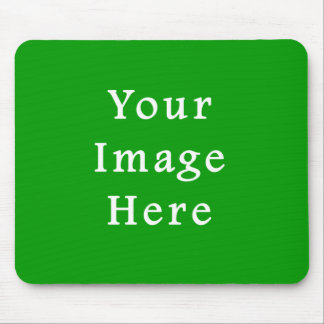 Christmas Green Retro Color Trend Blank Template Mouse Pad