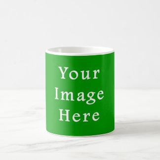 Christmas Green Retro Color Trend Blank Template Coffee Mug