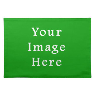 Christmas Green Retro Color Trend Blank Template Placemats