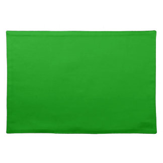 Christmas Green Retro Color Trend Blank Template Placemat