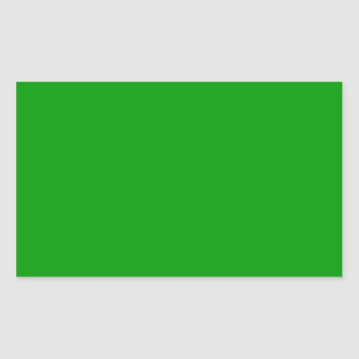 Christmas Green Retro Color Trend Blank Template Rectangular Sticker