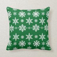 Christmas snowflake pillows