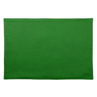 Christmas Green Textured Parchment Color Template Place Mat