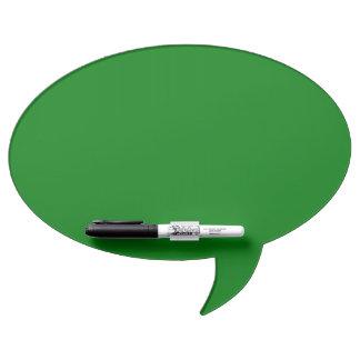 Christmas Green Velvet Dry Erase Whiteboard
