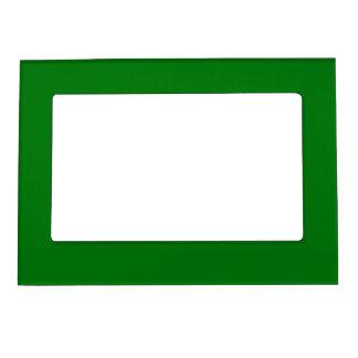 Christmas Green Velvet Magnetic Photo Frame