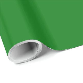 Christmas Green Velvet Wrapping Paper