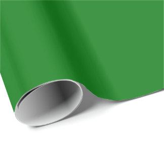 Christmas Green Velvet Gift Wrap