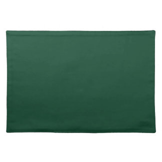 Christmas Green Vintage Dark Color Trend Template Placemat