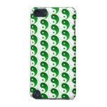 Christmas Green Yin & Yang Pattern iPod Touch (5th Generation) Cover