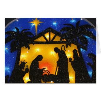 Christmas Greeting Card/Birth of Jesus Card