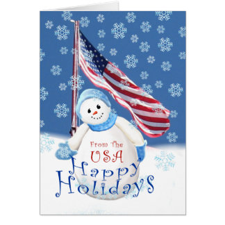 Christmas Greeting Card for Troops