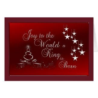 Christmas Greeting Card/Joy to the World