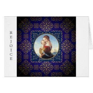 Christmas greeting card Religious