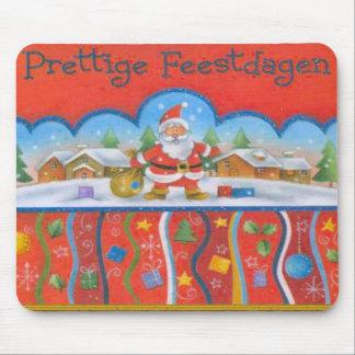 Christmas greeting from Santa Mouse Pad