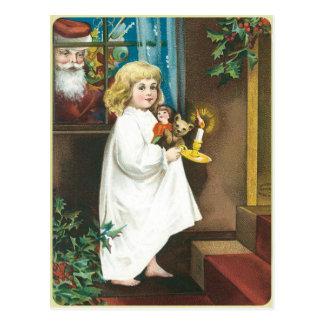 Christmas Greeting Post Card