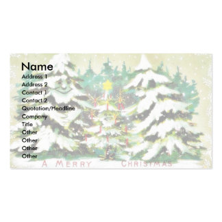 Christmas greeting with animals wore humad dress a business card templates